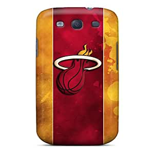 (rBQ96WEgC)durable Protection Cases Covers For Galaxy S3(miami Heat Logo)