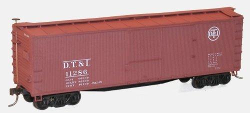Accurail ACU4638 HO KIT 40' USRA Wood Double Sheathed Box, D