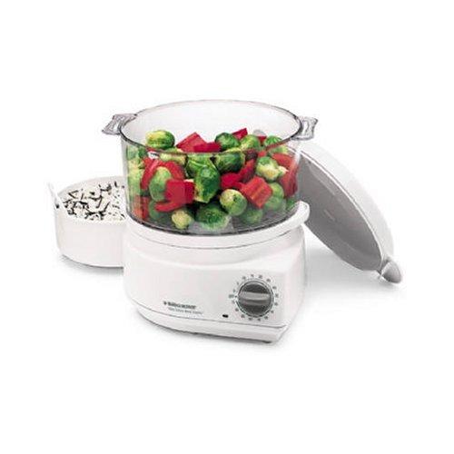 Black and Decker HS800 Handy Steamer Plus Food Steamer and Rice Cooker BLACK & DECKER (US) INC HS 800
