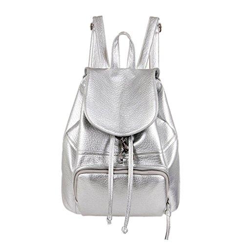 YR.Lover Vintage-Stil Rucksack Frauen Mode Rucksack Schultern Bag Satchel