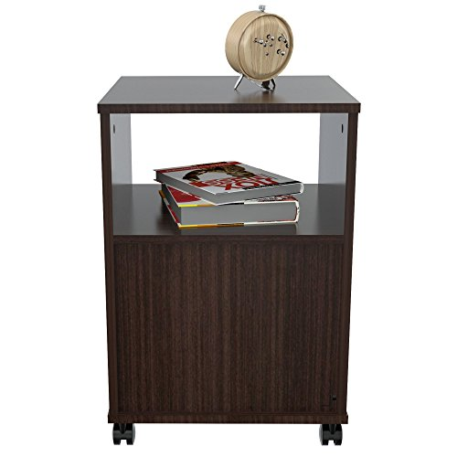 HomeRoots Office Mobile File Cabinet with One Drawer - Melamine/Engineered wood by HomeRoots