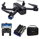 Contixo F22 RC Foldable Quadcopter Drone | Selfie, Gesture, 1080p WiFi Camera, GPS