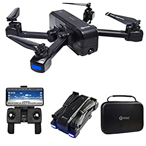 Contixo F22 RC Foldable Quadcopter Drone | Selfie, Gesture, Gimbal 1080P WiFi Camera, GPS, Altitude Hold, Auto Hover, Follow Me, Waypoint Includes Drone Storage Case (F22)