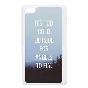 iPod Touch 4 Case White Ed Sheeran Quotes swen