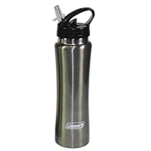 Coleman C01S162-24 Stainless Steel Sports Bottle,Colors may Vary, 26 Ounce