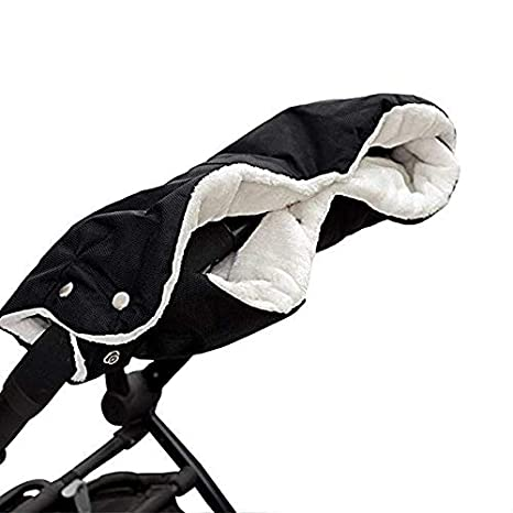 Cozywind Manoplas Carrito Bebe,Impermeables Guantes de Silla de Paseo para Invierno, Universal, Negro: Amazon.es: Bebé