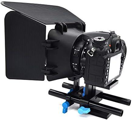 ACHICOO レールロッドサポートシステム ハイライザー カメラブラケット デジタル一眼レフカメラマウント アルミ 15ミリメ