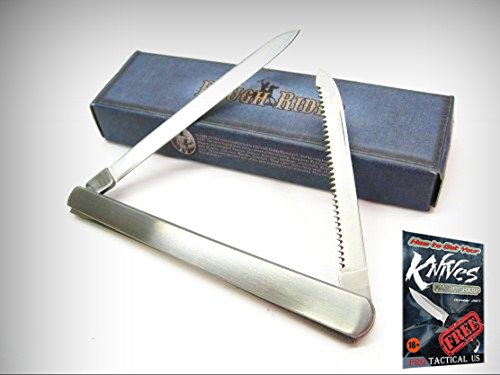 ROUGH RIDER Stainless Steel 2 Two Blade MELON TESTER Fruit Knife 001745 New! + free eBook by ProTactical'US