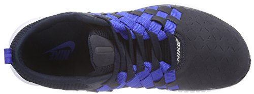 Nike Free Og '14 Woven - Zapatillas para hombre Azul (drk obsdn/white-mid nvy-gm ryl 401)
