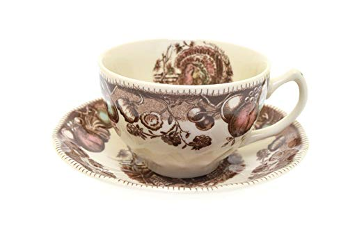 Johnson Brothers His Majesty Turkey Cup And Saucer Set