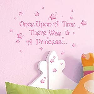 Main Street Wall Creations Sticker   Once Upon A Time There Was A Princess. Part 78