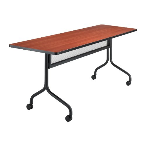 Safco Products 2072CYBL Impromptu Rectangle Mobile Training Table, 72