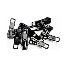 Sale Zipper Repair Kit Universal #5 Molded Slider - Color Black (10 Sliders / Pack)