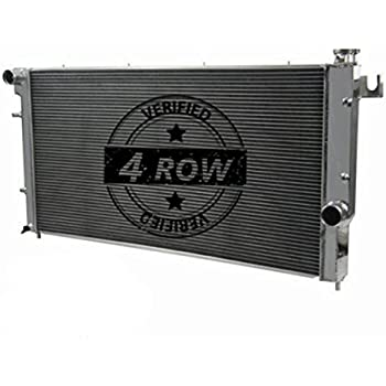 Primecooling 4 Row Aluminum Radiator for 1994-02 Dodge Ram 2500 3500, Quad Cab 5.9L Turbo Diesel Engine