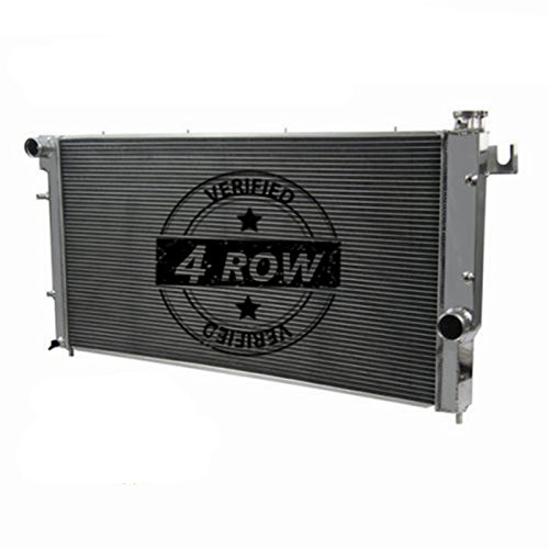 Primecooling 4 Row Aluminum Radiator for 1994-02 Dodge Ram 2500 3500, Quad Cab 5.9L Turbo Diesel Engine (Turbo Quad Diesel)