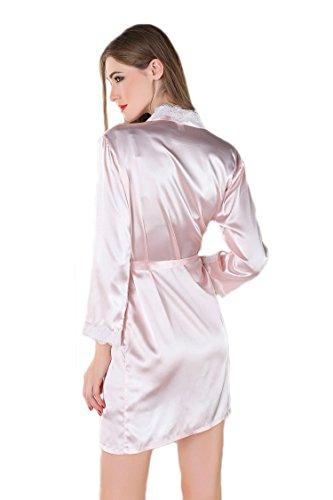 Spitzen mantel rosa