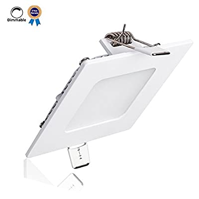 B-right Dimmable Square LED Recdessed Panel Light