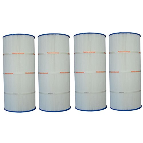 Pleatco PSD1250-2000 Sundance Spa Replacement Cartridge Filter System (4 Pack) by Pleatco