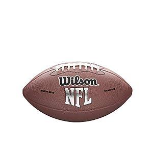 Wilson NFL MVP Junior Football – Brown Version