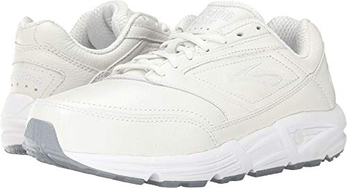 Brooks Women's Addiction, White, 7.5 2A-Narrow