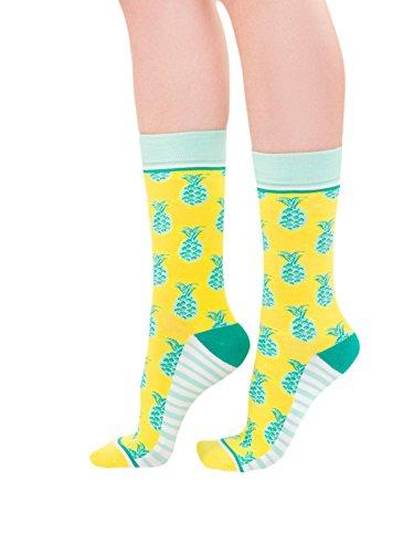 Woven Pear Women's Socks Pineapple Whip, One Size