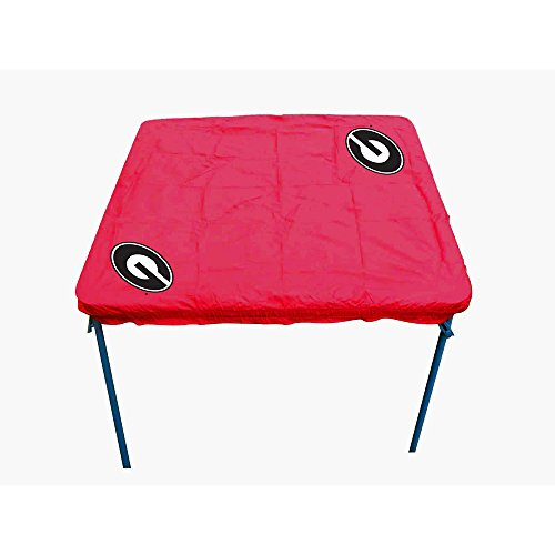 Georgia Bulldogs Table Cover (Rivalry NCAA Georgia Bulldogs Card Table Cover)