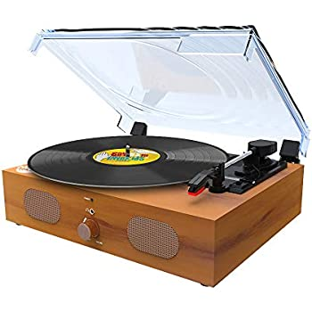 Amazon.com: Record Player Max Pad, Vinyl Turntable with ...