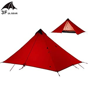 KH3S 3F UL Single Device Person 15D Coating Silicone Rodless Double Cylinder Layer Waterproof Tent Portable Ultralight (3)