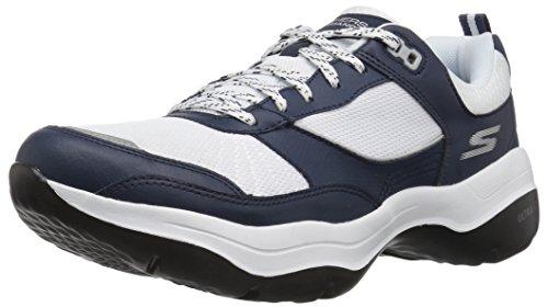 Skechers Women's Mantra Ultra Forte Sneaker, Navy/White, 9 M US (Sales January Clearance)