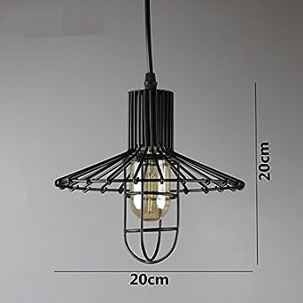Yaojiaju Retro Leuchten 4 Arten Eisen Kafig Lampenschirm Lager Stil