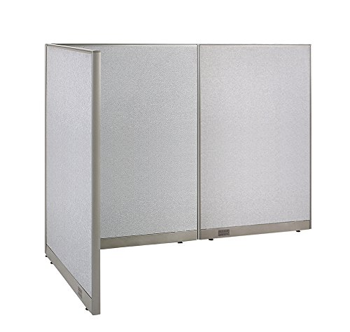 GOF L-Shaped Freestanding Partition 48D x 96W x 72H / Office, Room Divider (48D x 96W x 72H) by GOF