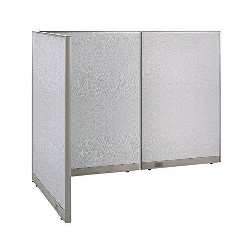 GOF L-Shaped Freestanding Partition 48D x 96W x 72H / Office, Room Divider (48D x 96W x 72H) (Partitions Freestanding Office)