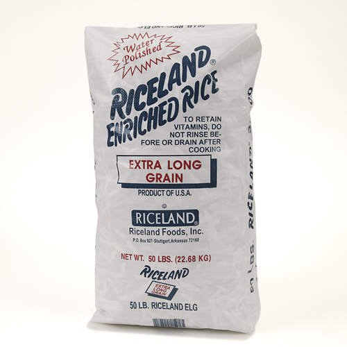 Riceland Extra Long Grain Rice - 50 lbs. - CASE PACK OF 2 by Riceland