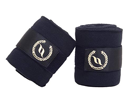 Back on Track Night Collection - Fleece Polo Wraps (Blue)