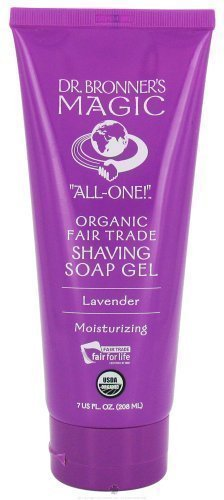 Dr. Bronner's Organic Lavender Shave Gel 200 g by Dr. Bronner