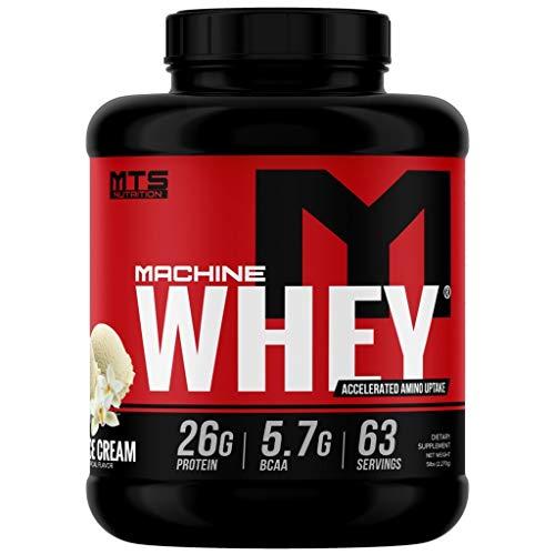 MTS Machine Whey Protein (5lbs, Vanilla)