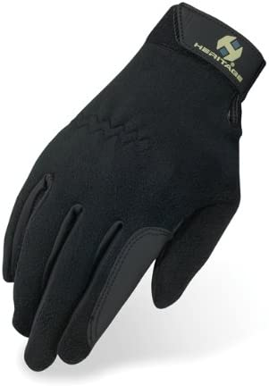 Unisex Fleece Horse Riding Gloves (Equestrian Gloves) [Heritage] Picture