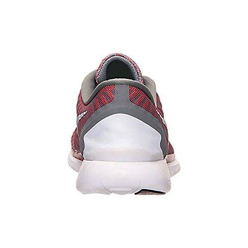 Nike Mens Free 5.0 Scarpa Da Corsa Grigio Tumbler / Argento Riflettente / Cremisi