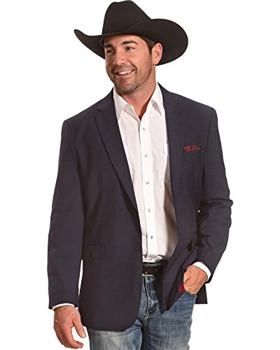 Circle S Men's Platinum Blue Shadow Western Sport Coat – Cc6543-09