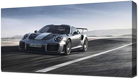 Lilarama USA 2018 Porsche 911 GT2 RS V1 - Canvas Art Print - Wall Art - Canvas Wrap