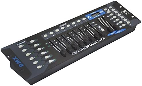 SATKIT Mesa Controladora de Luces DMX 512 192 Canales programable ...