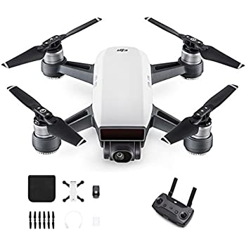 DJI Spark with Remote Control Combo (White)