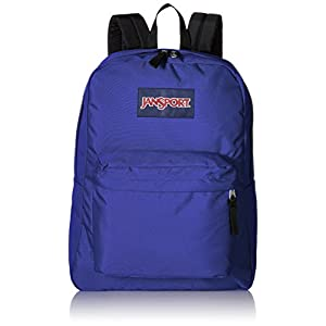 JanSport Unisex SuperBreak Violet Purple Backpack