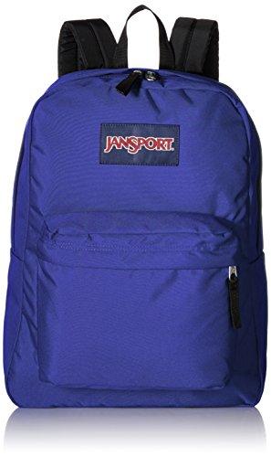 (JanSport Unisex SuperBreak Violet Purple Backpack)
