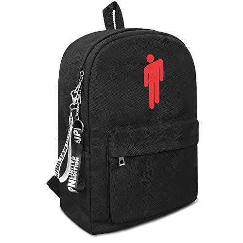 Backpack,Billie-Eilish-LOGO- Casual,Classic,business} Water Resistant Convas Travel Daypack Bookbag For Women & Men