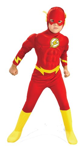 Rubie's Child Deluxe Muscle Chest The Flash - Toddler (Flash Costume Child)
