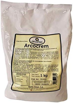 Arcocrem Arconsa - Preparado para Crema Pastelera - 1 kg