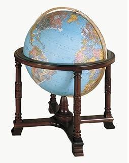 Amazoncom Replogle Globes Illuminated Queen Anne Globe Antique