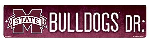 NCAA Mississippi State Bulldogs High-Res Plastic Street - Bulldogs Baseball State Mississippi