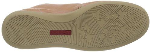 Pikolinos BORNEO W9B-4 - zapatilla deportiva de cuero mujer rosa - Pink (PINKSOFT)